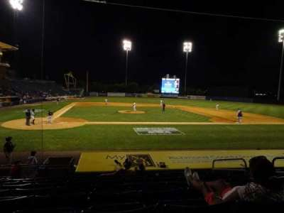 Richmond County Bank Ballpark, sección: 11, fila: M, asiento: 3