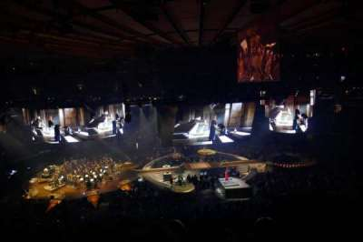 Madison Square Garden, sección: 223, fila: 8, asiento: 13