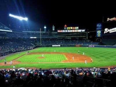 Turner Field, sección: 211, fila: 11, asiento: 104