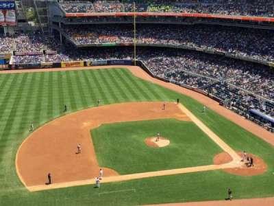 Yankee Stadium, sección: 425, fila: 3, asiento: 3