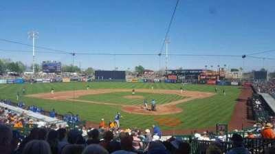 Scottsdale Stadium, sección: 301, fila: 3, asiento: 7