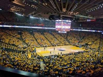 Oracle Arena, sección: M15, fila: 2