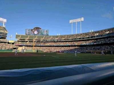 Oakland Alameda Coliseum, sección: 3BFB, fila: 1, asiento: 9
