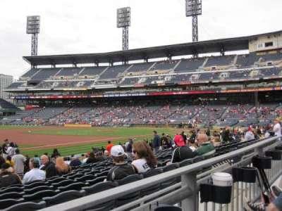 PNC Park, sección: 127, fila: A, asiento: 15
