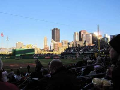 PNC Park, sección: 113, fila: F, asiento: 7