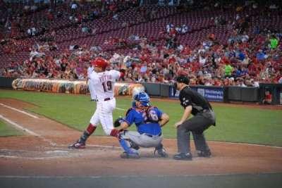 Great American Ball Park, sección: 119, fila: F, asiento: 1