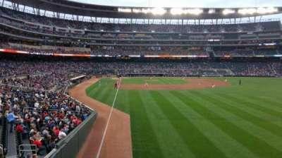 Target Field, sección: 139, fila: 1, asiento: 13
