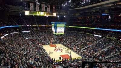 Philips Arena, sección: 305, fila: F, asiento: 1