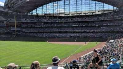 Miller Park, sección: 232, fila: 7, asiento: 10