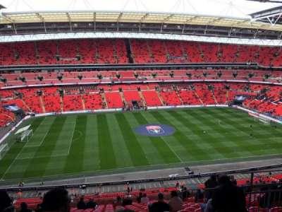 Wembley Stadium, sección: 528, fila: 19, asiento: 54