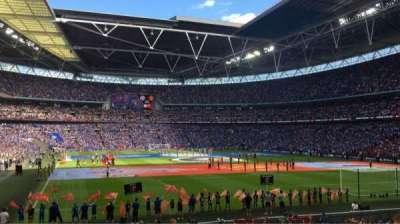 Wembley Stadium, sección: 110
