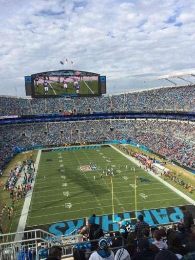 Bank of America Stadium, sección: 529, fila: 11, asiento: 24