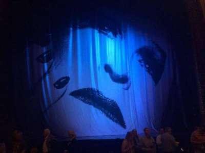Palace Theatre (Broadway), sección: ORCH, fila: H, asiento: 117