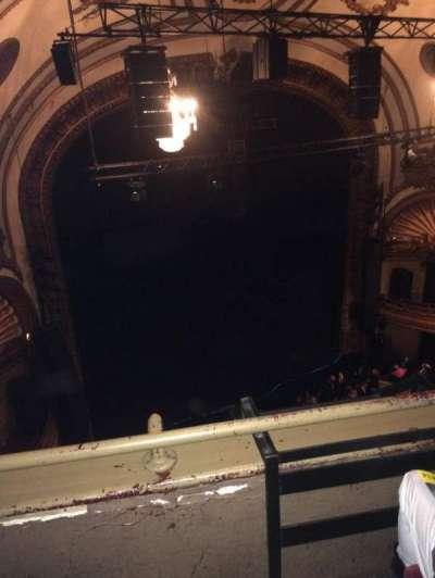 Palace Theatre (Broadway), sección: Balcony left, fila: B, asiento: 17