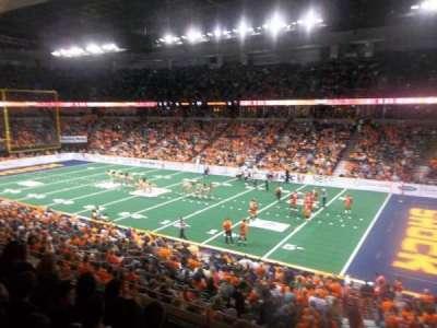 Spokane Arena, sección: 106, fila: K, asiento: 14