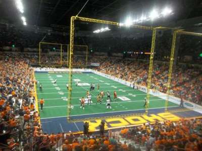 Spokane Arena, sección: 108, fila: T, asiento: 7