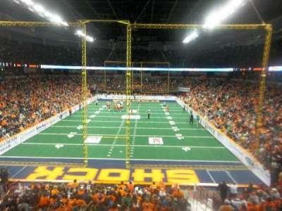 Spokane Arena, sección: 110, fila: R, asiento: 10