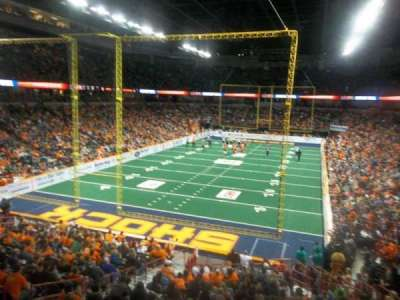 Spokane Arena, sección: 112, fila: S, asiento: 7