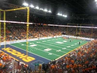 Spokane Arena, sección: 113, fila: P, asiento: 6
