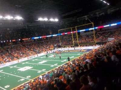 Spokane Arena, sección: 115, fila: N, asiento: 16