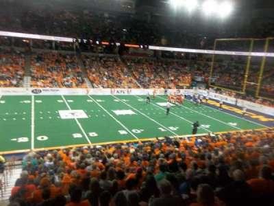 Spokane Arena, sección: 116, fila: P, asiento: 19