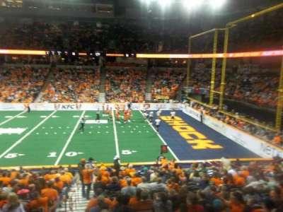Spokane Arena, sección: 118, fila: S, asiento: 16