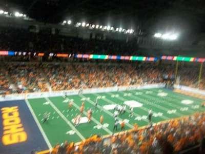 Spokane Arena, sección: 201, fila: M, asiento: 17