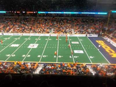 Spokane Arena, sección: 205, fila: K, asiento: 19