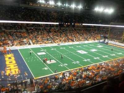 Spokane Arena, sección: 214, fila: M, asiento: 26