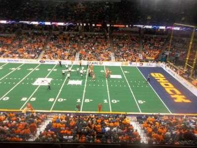 Spokane Arena, sección: 217, fila: M, asiento: 10