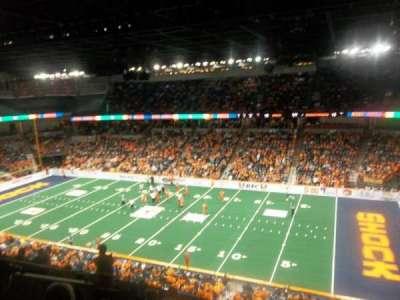 Spokane Arena, sección: 218, fila: L, asiento: 2