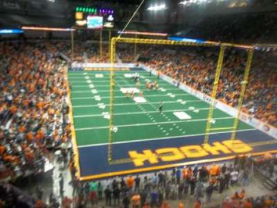 Spokane Arena, sección: 221, fila: M, asiento: 19
