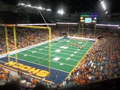 Spokane Arena, sección: 224, fila: M, asiento: 4