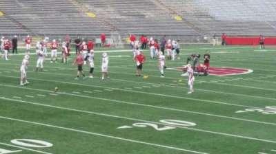 Camp Randall Stadium, sección: x, fila: 20, asiento: 14