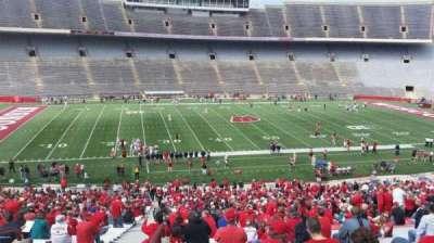 Camp Randall Stadium, sección: u, fila: 57, asiento: 36