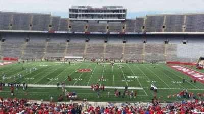 Camp Randall Stadium, sección: s, fila: 57, asiento: 36