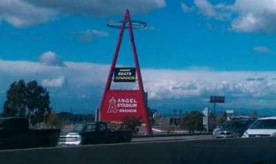 Angel Stadium sección Big A