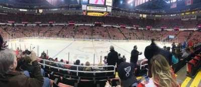 Joe Louis Arena, sección: 122, fila: 11, asiento: 5