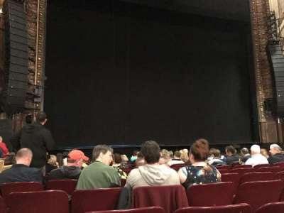 Palace Theatre (Broadway), sección: Orchestra, fila: L, asiento: 199