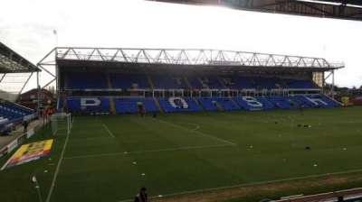 London Road Stadium, sección: Main Stand, fila: N