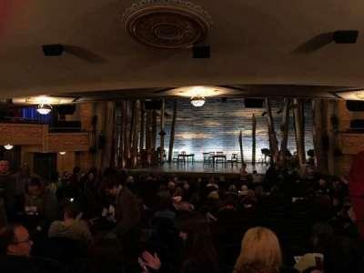 Gerald Schoenfeld Theatre, sección: Standing Room, fila: SRO, asiento: 109