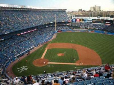 Old Yankee Stadium, sección: Tier 11, fila: L, asiento: 3