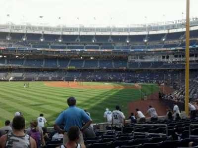 Yankee Stadium sección 133