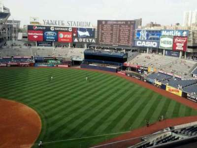 Yankee Stadium sección 314