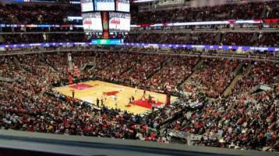United Center, sección: Harris Club, fila: 1, asiento: GA
