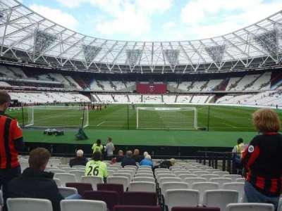 London Stadium sección 120