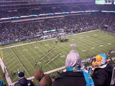 MetLife Stadium, sección: 318, fila: 12, asiento: 11