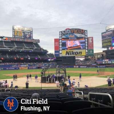 Citi Field, sección: 15, fila: 17, asiento: 15