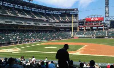 Guaranteed Rate Field, sección: 122, fila: 29, asiento: 6