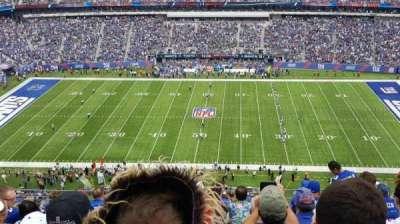 MetLife Stadium, sección: 338, fila: 12, asiento: 12